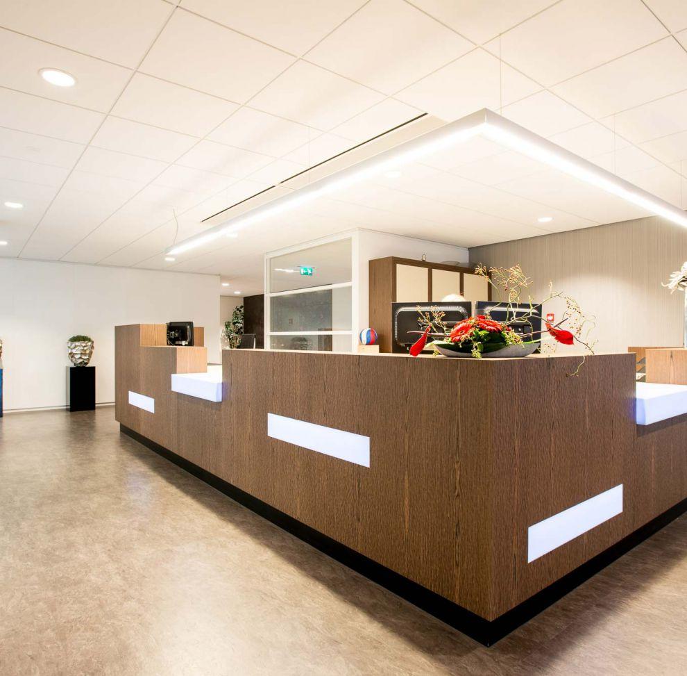 Punt interieurbouw project hoek en blok sliedrecht - Hoek kantoor layouts ...